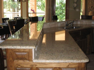 Polished Granite Counters
