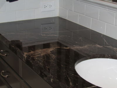 Polished Granite Counter